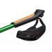 Палки для скандинавской ходьбы NordicStep Corsa c Antishok 3-х секционные (Зеленые)