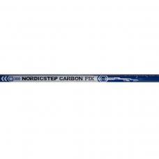 Палки для скандинавской ходьбы фиксированные NordicStep 50% Carbon Fix