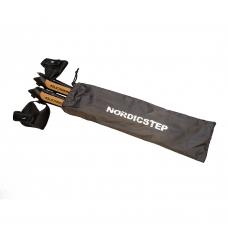 Палки для скандинавской ходьбы NordicStep Travel 4-х секционные